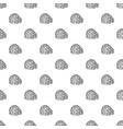 igloo pattern seamless vector image vector image