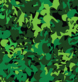 Military pattern vector image vector image