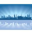 Newcastle England skyline vector image vector image