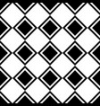 tile black and white pattern or website background vector image vector image