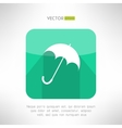 Umbrella icon made in modern clean and simple flat vector image vector image