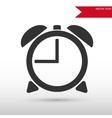 Alarm Clock icon Alarm Clock symbol Flat design vector image