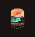 emblem patch logo virgin islands national park