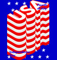 Fourth of july usa independence day modern poster