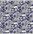 hipsters or emo seamless pattern vector image vector image