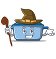 witch kitchen character cartoon style vector image vector image