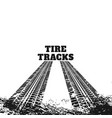 abstract dirty tire track marks vector image vector image