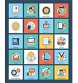 business innovative flat pack vector image