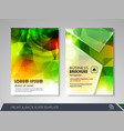 Corporate identity template brochure