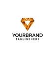 digital letter v logo design concept template vector image vector image
