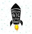dream big stars vector image vector image