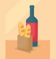picnic food design vector image vector image