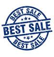 best sale blue round grunge stamp vector image vector image