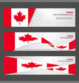 canada independence day abstract background vector image