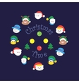 Christmas time vector image