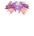 flower ornament in minimalist style flat vector image vector image