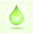 green drop vector image vector image