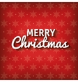 greeting merry christmas graphic vector image