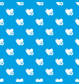 like pattern seamless blue vector image vector image