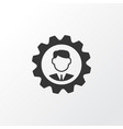 manager icon symbol premium quality isolated vector image vector image