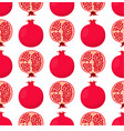 pattern with garnet vector image vector image