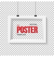 Poster Frame Mockup Realistic EPS10 vector image
