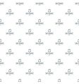 production 3d printing pattern seamless vector image vector image
