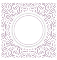 Round Frame vector image vector image