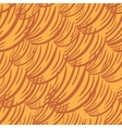 Simple Wave Orange Pattern vector image vector image