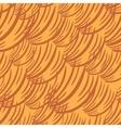 Simple Wave Orange Pattern vector image