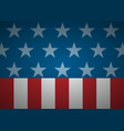 united states abstract flag background vector image vector image