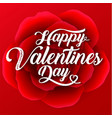 valentines day red roses background sale vector image vector image