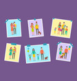family happy parents pictures vector image vector image