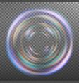 glow light effect beam rays sunlight vector image
