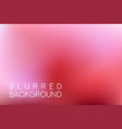 horizontal wide pink sky blurred background vector image vector image
