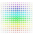 money shape halftone spectral grid vector image vector image