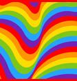 rainbow opt art background seamless pattern vector image