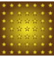 Seamless stars background in vector image vector image