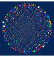 Star Salute Sphere vector image