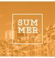 Summer print vector image vector image