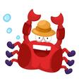 a crab vector image