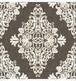 Classic rococo ornament design vector image