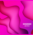 colorful geometric background liquid flow fluid vector image