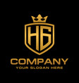 hg logo vector image vector image