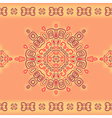 Seamless lace pattern in ethnic style vector image