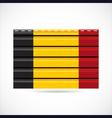 Belgium siding produce company icon vector image vector image