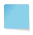 Blue paper sticker vector image vector image