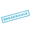 Breakdance Rubber Stamp