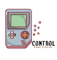control game studios game boy background im vector image vector image