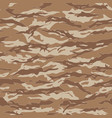 desert tiger stripe camouflage seamless patterns vector image vector image